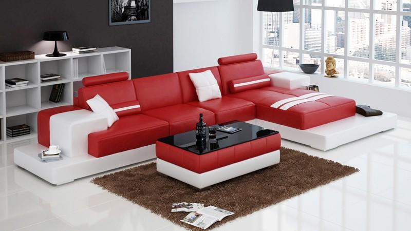 Olympian sofas nurburg red corner sofa for Red corner sofa