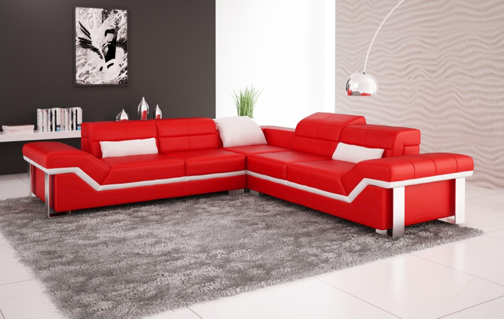 Red Corner Sofa Brilliant Corner Sofa Bed