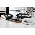 Daviano Black Sofa