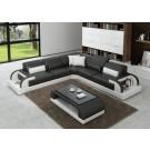 Valentino Grey & White Sofa Instock