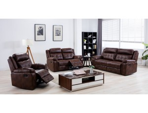Falcon Recliner Chestnut Brown