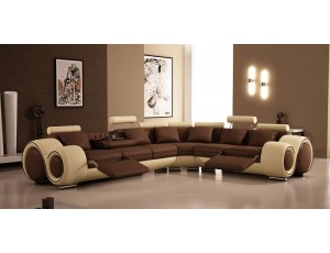 Florenz Brown Corner sofa **INSTOCK**