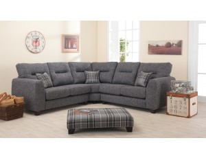 Liz Fabric Corner Sofa