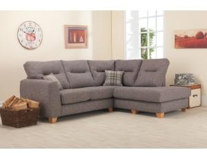 Liz Fabric Corner Chaise Sofa
