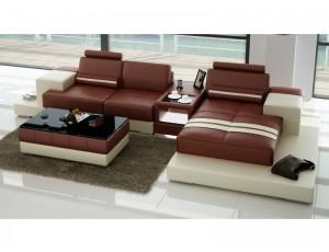 Nurburg Brown Corner Sofa