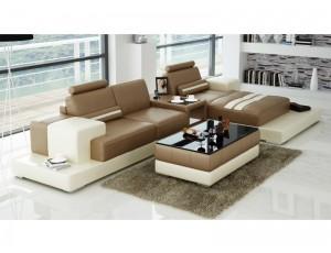 Nurburg Beige Corner Sofa